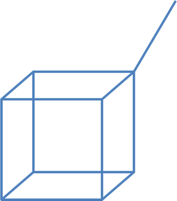 Square Bubble Cube Diagram